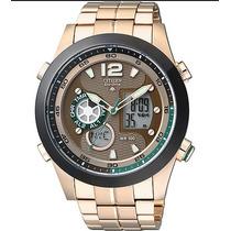 Relógio Citizen Cronógrafo Jz1002-56w Na Caixa Em 12x S/jur