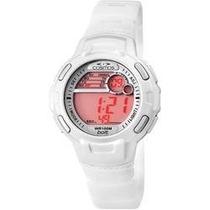 Relógio Esporte Cosmos Os48523 Branco Novo Na Caixa
