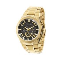 Relógio Masculino Technos Sports Os2aar/4p 48mm Dourado