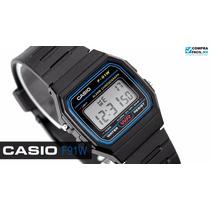 Relógio Casio Unisex F-91w-1dg Bat. Lithium Prova Original