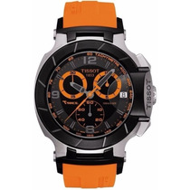 Relógio Tissot T-race Moto Gp Laranja / Preto / Rose /