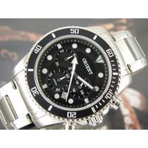 Lançamento Relógio Orient Cronógrafo Calendário Masculino