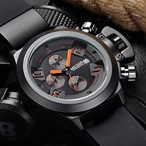 Relógio Masculino Militar Luxo Megir A Prova D
