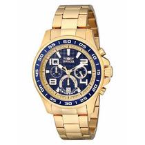 Relógio Invicta Specialty 14391 - Banho À Ouro 18 Kilates