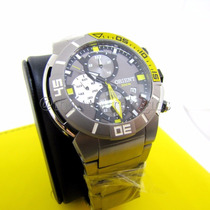 Relógio Orient Seatech Titanium Mbttc003 De Mergulho 300m