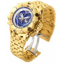 Relógio Invicta Venom Hybrid 16805 - Azul Dourado Masculino