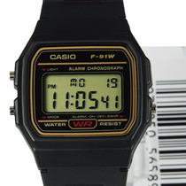 Relógio Casio F91 Original F91 Série Ouro