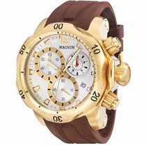 Relógio Magnum Masculino Original Ma33755b C/ Frete Grátis