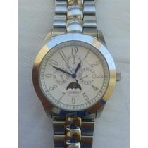 Relógio Guess Waterpro Em Aço Original Estados Unidos