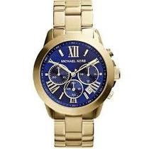 Relógio Michael Kors Mk5923 Dourado, Original Garantia 1 Ano