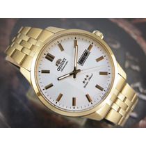 O R I E N T Relógio Orient Automatico Classico Plaque Ouro