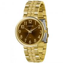 Relógio Lince Lrg4275l M2kx Feminino Dourado - Refinado