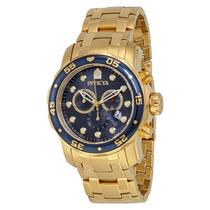 Relógio Invicta 0073 Ouro 18k Pro Drive ! P/entrega!!!