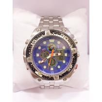 Relógio Masculino Original Atlantis Ponteiro Digital Grátis