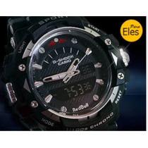 Relógio Estilo Gshock Red Bull