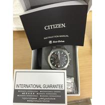 Relógio Citizen Super Titanium Completo Na Caixa