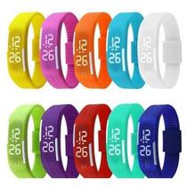 Relógio Nike Led Watch Diversas Cores Para Atletas Silicone