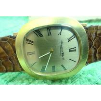 Relógio Iwc-international Watch Co Schaffhausen De Ouro