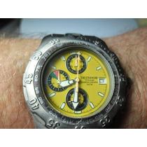 Relógio Technos Chronograph Em Titanio