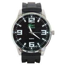 Relógio Masculino Lacoste Preto Esporte De Luxo