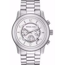Relógio Michael Kors Mk8086 Prata Original + Caixa