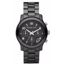 Relógio Michael Kors Mk5162 Cerâmica Preto Original Garantia