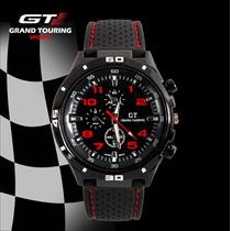 Relógio Esportivo Homem Grand Touring Gt Preto Analógico