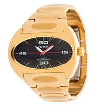 Relógio Triton - Dourado - Original - 12x Sem Juros