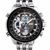 Skmei Led Digital Relógios Quartz Mergulho 30m Multifunções