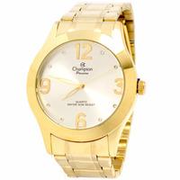 Relógio Champion Passion Dourado Lançamento Cn29230h