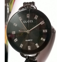 Relógio Bracelete Gucci Visor Bronze Fotos Reais 12xs/juros