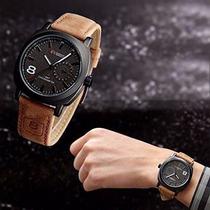 Relógio Curren Tipo Militar Luxo Original Frete Grátis