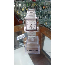 Relógio Lince Inox Masculino (orient) Mqm437l Prova 30 M
