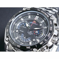 Relogio Casio Edifice Red-bull Ef 550 1a Pronta Entrega Br