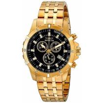 Relógio Invicta 17505 Specialty 18k Gold Masculino Importado