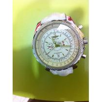 Relógio Breitling, Branco. Ref. A25362, Ed. Bentley Motors