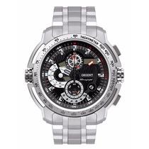 Relógio Orient Esporte Masculino Tachimeter 100m Mbssc045 --