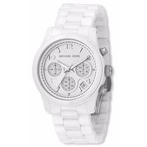 Relógio Michael Kors Mk5161 Cerâmica Branco Original