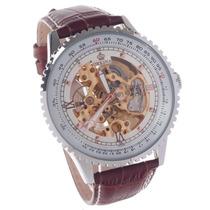 Relógio Masc Automático Visual Frente E Verso