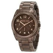 Relógio Michael Kors Mk5493 Chocolate Original, Garantia