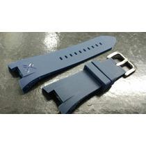 Pluseira Armani Exchange Ax1050/1040 Azul