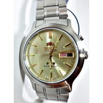 Relógio Automático Orient Masculino Aço Inox 469wa1a Or 62