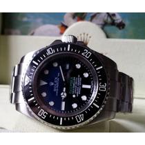 Relógio Eta A2836 Modelo Deepsea Sea-dweller D-blue