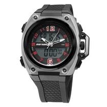 Relógio Mormaii Y8401/8r Alarme Cronômetro Wr 100m Novo Nfe