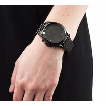 Relogio Michael Kors Mk5550 Black Caixa Manual + Frete Grats