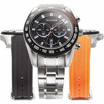 Relógio Masculino Technos Sports Os20hm/1p Carbon Cronógrafo
