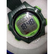 Relógio Masculino De Pulso De Lcd Display Com Luz Get Over