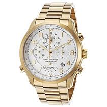 Relógio De Luxo Bulova Precisionist 97b139 Chron Anal Ouro