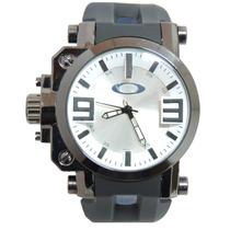 Relógio Masculino Esporte Novo Okley Gearbox Preto E Branco