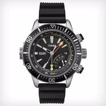 Relógio Timex Profundimêtro E Temperatura Preto T2n810pl/ti